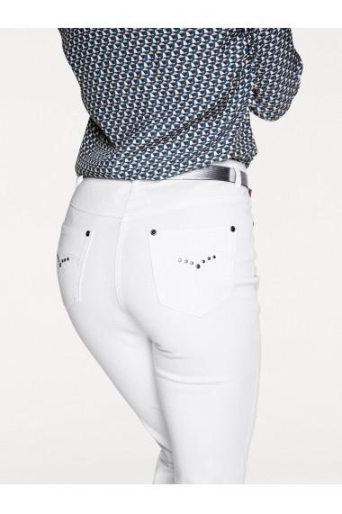 Jeans mignona heine TIMELESS 050222 alb