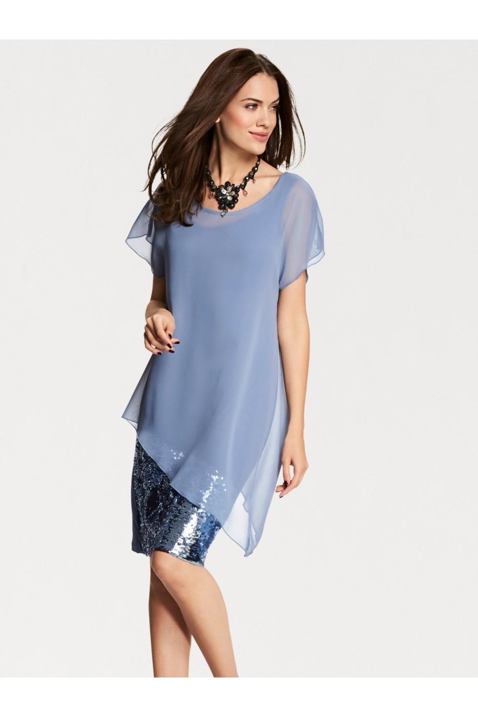 Estélyi ruha heine TIMELESS 8020 Kék - FashionUP! 6639fdded2