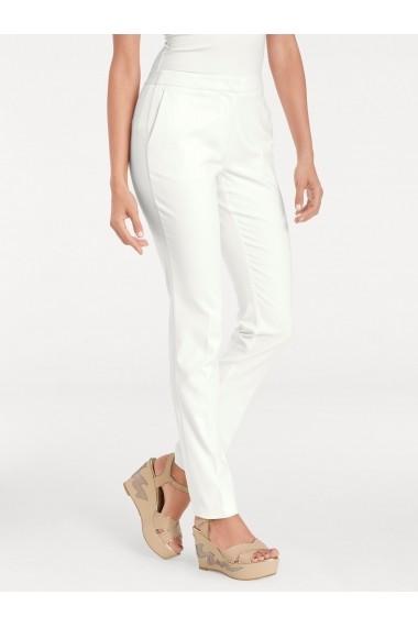 Pantaloni drepti mignona heine TIMELESS 040118 alb