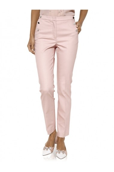 Pantaloni drepti heine TIMELESS 150791 roz