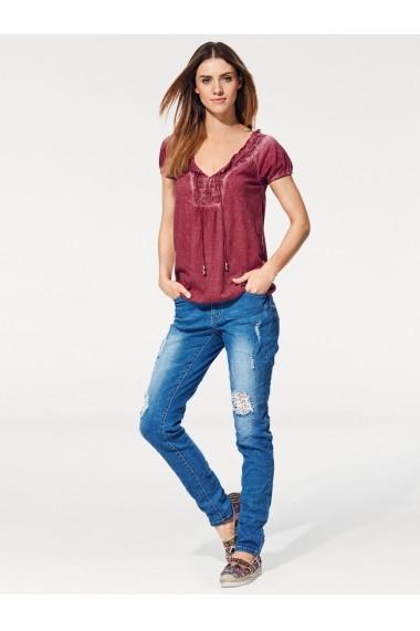 Tricou heine CASUAL 034311 roz