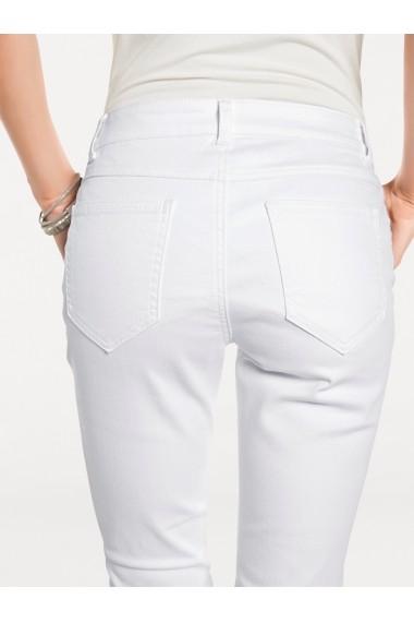 Jeansi drepti mignona 002436 heine CASUAL alb