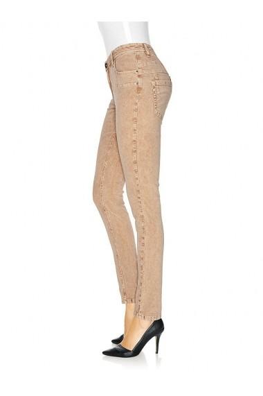 Pantaloni raiati mignona 128437 heine CASUAL portocaliu