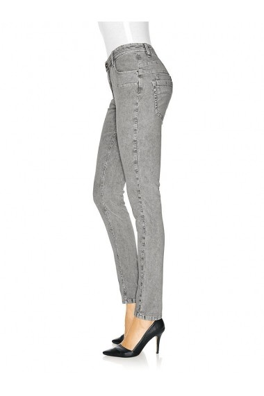 Pantaloni raiati heine CASUAL 144912 gri