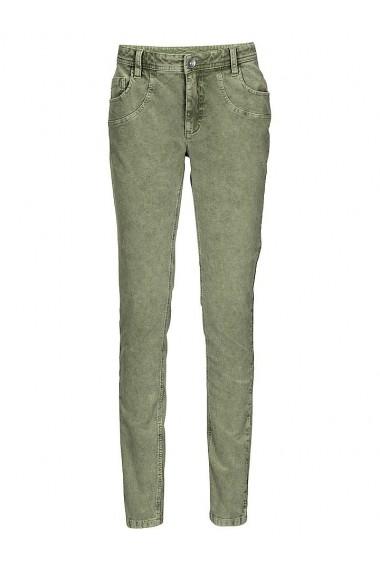 Pantaloni raiati heine CASUAL 156618 verde