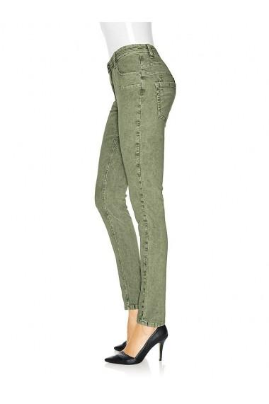 Pantaloni raiati mignona 158484 heine CASUAL verde