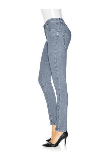 Pantaloni raiati mignona 163042 heine CASUAL albastru