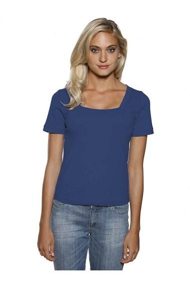 Tricou heine CASUAL 127006 bleumarin