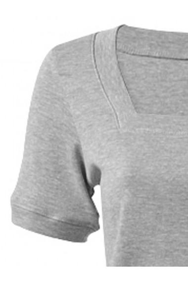 Tricou heine CASUAL - 127142 Gri