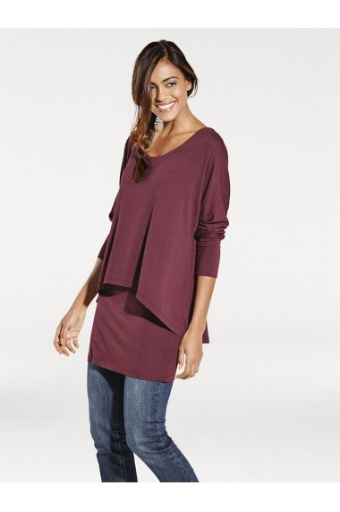 Bluza heine CASUAL 177880 bordo