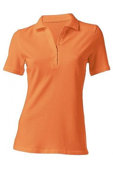 Tricou Polo heine CASUAL 129170 portocaliu