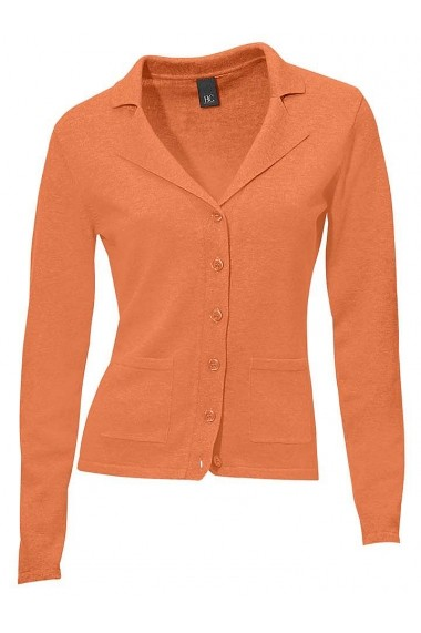 Cardigan heine CASUAL 160022 portocaliu - els