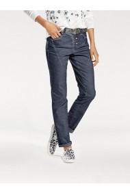 Pantaloni drepti heine CASUAL 127346 bleumarin - els