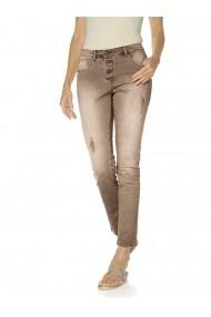 Pantaloni drepti heine CASUAL 128605 maro