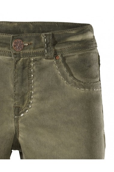 Pantaloni drepti heine CASUAL 128802 verde