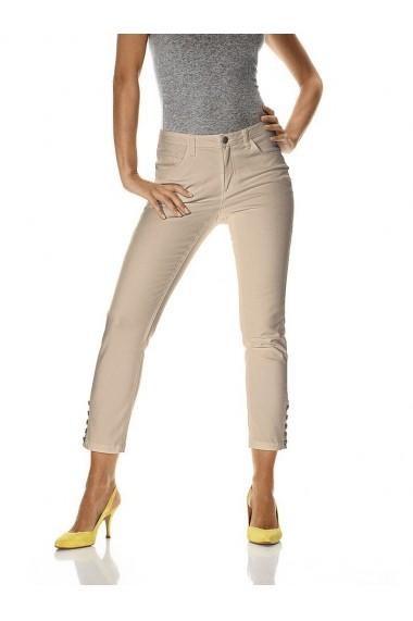 Pantaloni drepti heine CASUAL 153227 bej