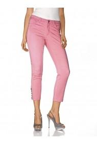 Pantaloni drepti heine CASUAL 154161 roz