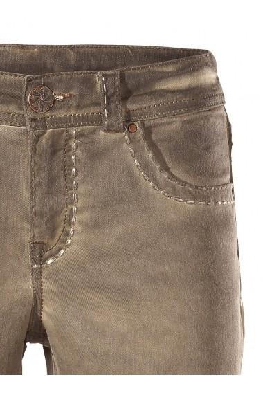 Pantaloni drepti mignona 176507 heine CASUAL maro