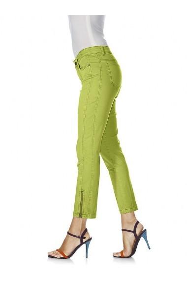 Pantaloni drepti heine CASUAL 183434 verde