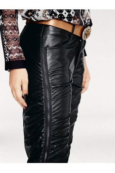 Pantaloni drepti heine CASUAL 194782 negru