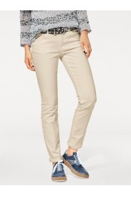 Pantaloni drepti heine CASUAL 018003 bej - els