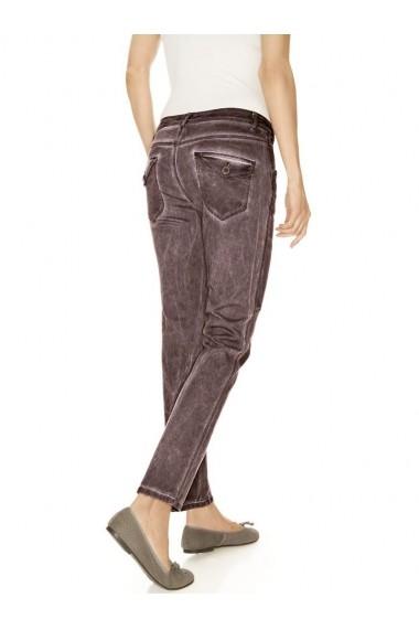 Pantaloni skinny mignona 141654 heine CASUAL bordo