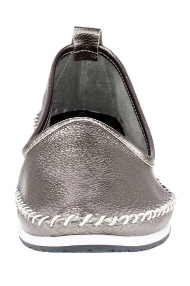 Espadrile Andrea Conti 127616 argintiu