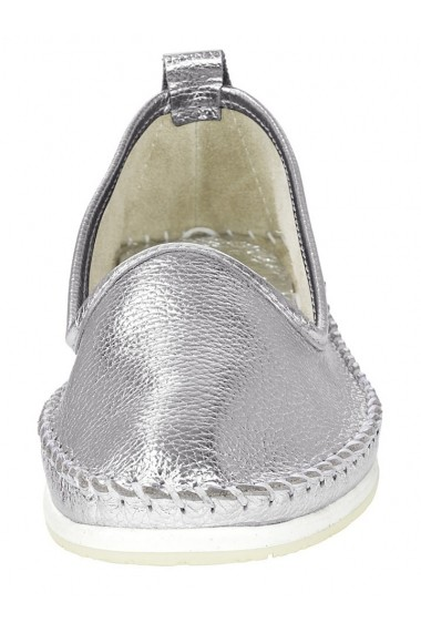 Espadrile Andrea Conti 160189 argintiu