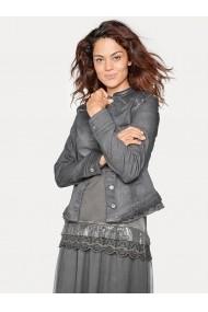 Jacheta din denim heine CASUAL 007613 gri