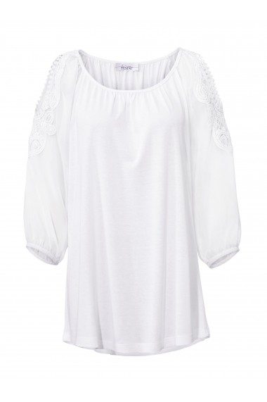 Bluza heine CASUAL 003488 alb