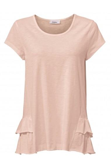 Tricou heine CASUAL 007828 roz