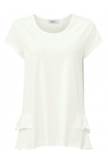Tricou heine CASUAL 008234 alb