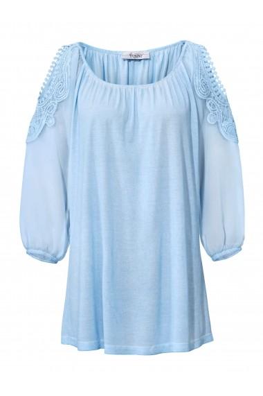 Bluza heine CASUAL 078503 bleu