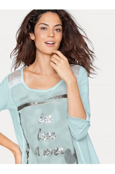 Bluza heine CASUAL 002074 verde