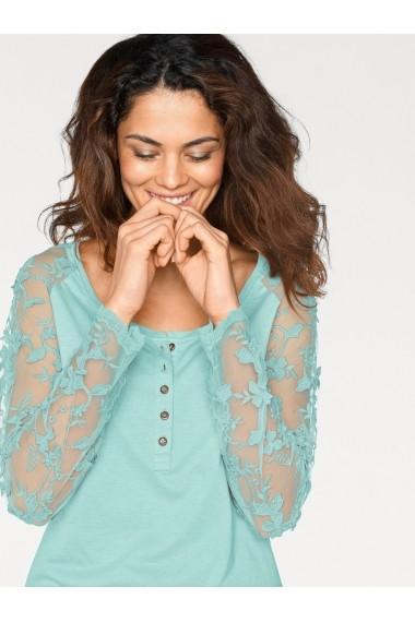 Bluza heine CASUAL 005107 turcoaz