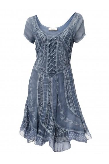 Rochie heine CASUAL 003941 albastru