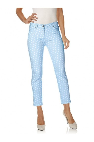 Pantaloni drepti Class International Fx 142851 albastru