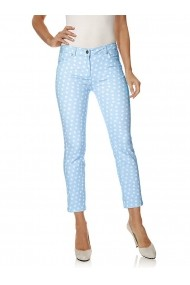 Pantaloni drepti Class International Fx 142851 albastru