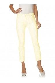 Pantaloni drepti Class International Fx 143173 galben