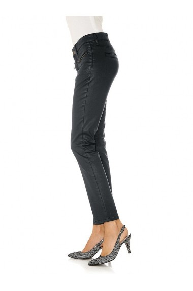 Jeansi Slim Travel Couture 133753 negru