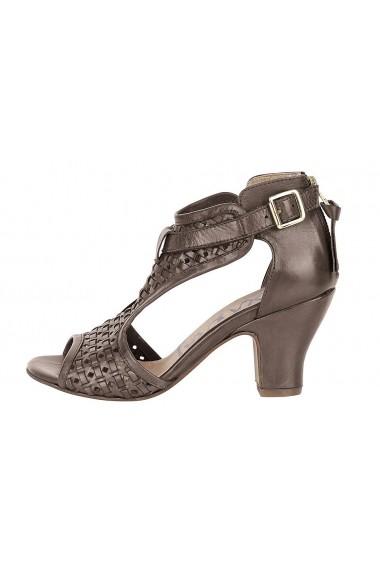 Sandale cu toc XYXYX 198817 maro - els