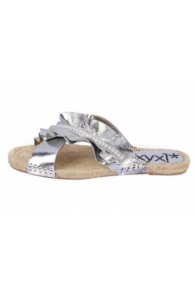 Papuci XYXYX 52922936 argintiu