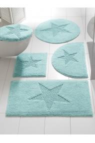 Set de baie heine home 006213 albastru 47/50 cm+45/50 cm