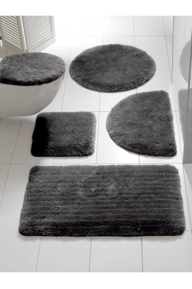Covoras de baie heine home 041664 gri 60/100 cm - els