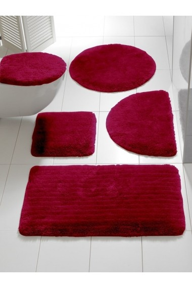 Set de baie heine home 088220 bordo 47/50 cm+45/50 cm - els