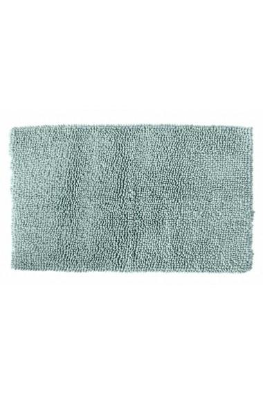 Covoras de baie heine home 099978 verde 50/80 cm semirotund