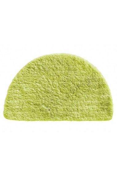 Covoras de baie heine home 102730 verde 50/80 cm semirotund