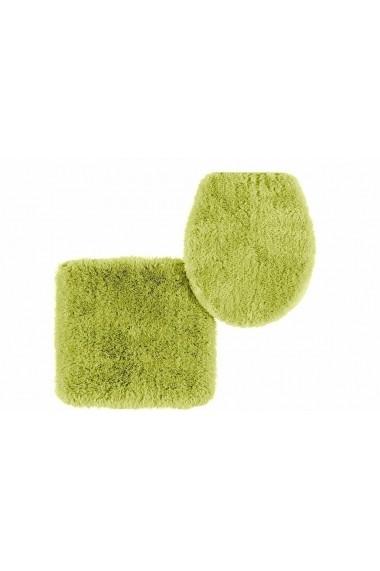Covoras de baie heine home 102730 verde 50/80 cm semirotund - els