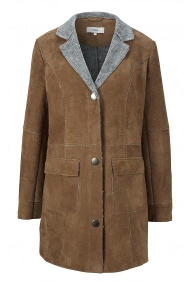 Jacheta din piele heine CASUAL 57584926 bej - els
