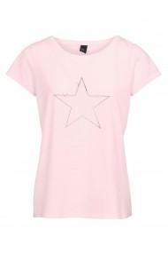 Tricou heine CASUAL 49587700 roz
